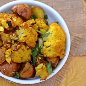 Roasted Cauliflower Potatoes