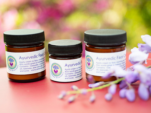 Ayurvedic Face Cream and Orange Blossom Face Cream